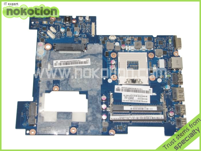 NOKOTION Laptop motherboard For Lenovo G570 Intel hm65 DDR3 Socket pga989 LA-675AP