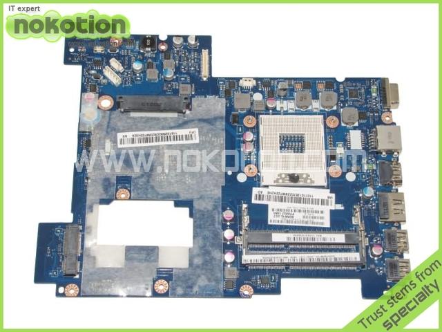 Placa madre del ordenador portátil para Lenovo G570 Intel hm65 DDR3 Socket pga989 LA-675AP