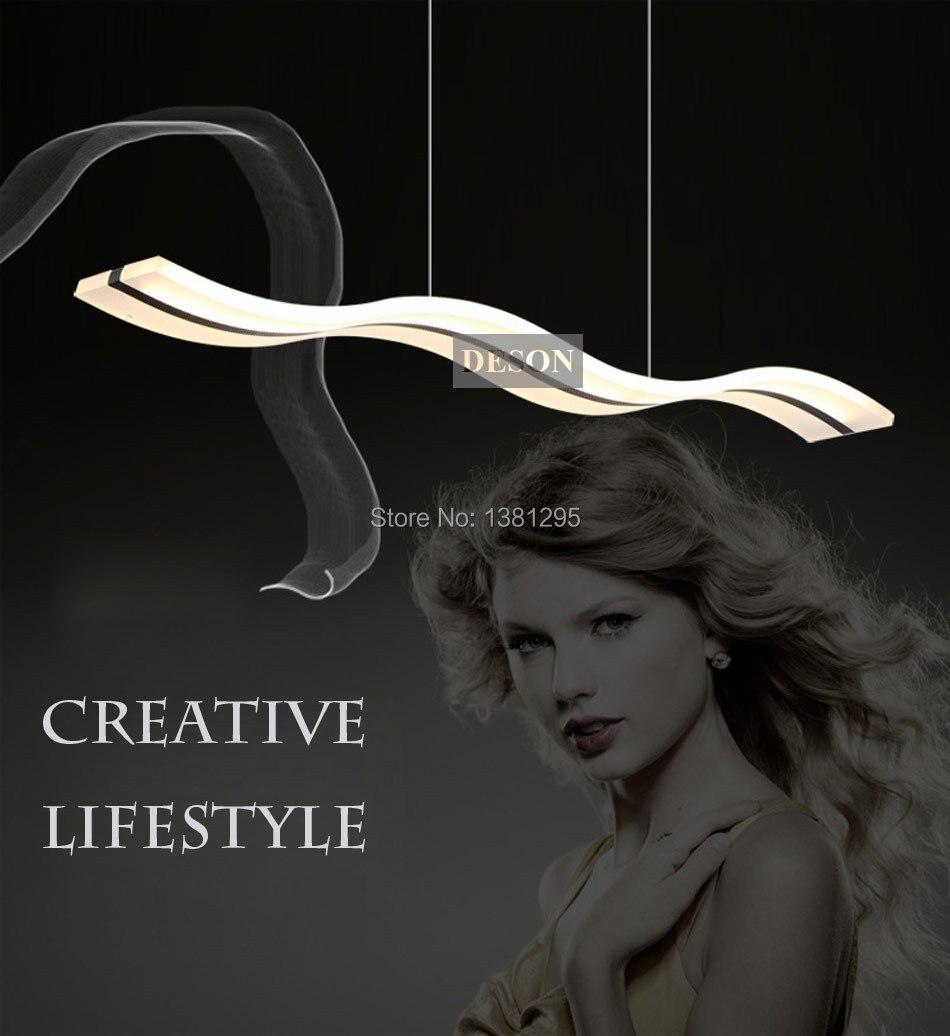 Aliexpress.com: koop led hanglampen moderne ontwerp keuken acryl ...
