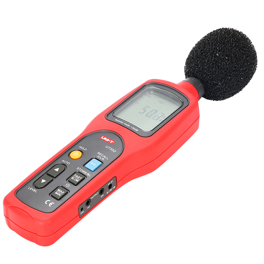 UNI-T UT352 30~130dB Noise Monitor Testers Frequency White noise machine 31.5Hz~8000Hz Digital Sound Level Meters я immersive digital art 2018 02 10t19 30