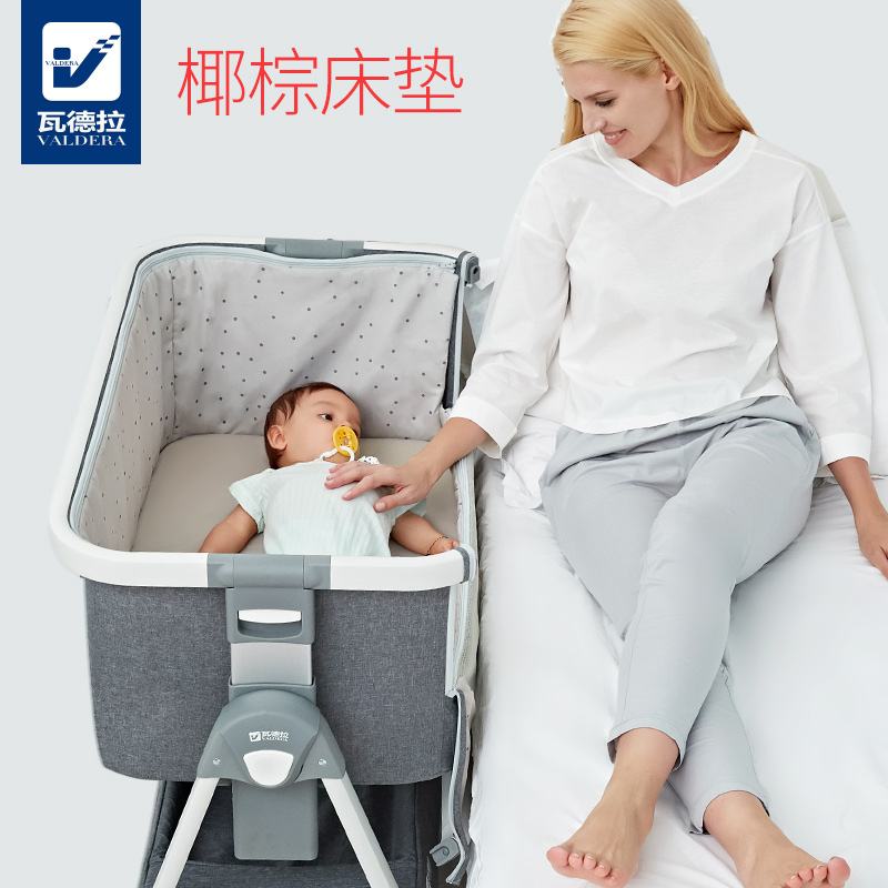 CRIB Mattress Nursery Baby Breathable Waterproof Cradle Mattress 75 x 35 x 4 CM