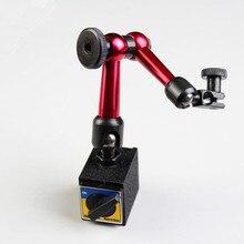 Рычажный держатель циферблатный индикатор, микро Магнитный стенд 210 мм Универсальный циферблат индикатор ВКЛ/ВЫКЛ магнитный держатель-стойка