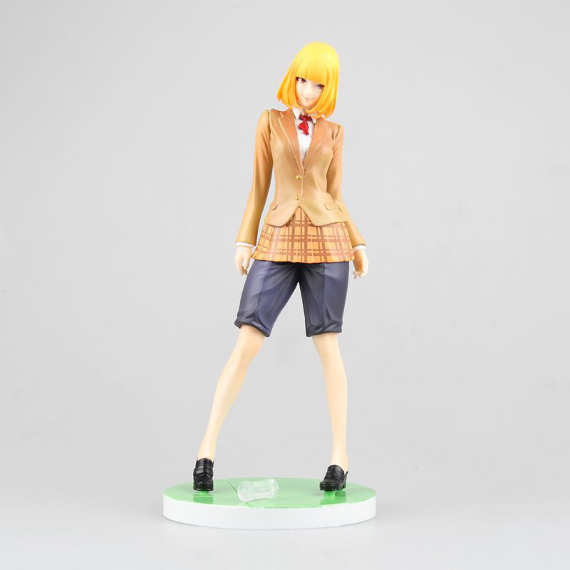 Prison School Midorikawa Hana Uniform Ver. 1/7 Scale Completed PVC Action Figure Collectible Model Toy 20cm KT3294 touhou project 1 7 scale painted figure light ver kirisame marisa doll pvc action figure collectible model toy 23cm