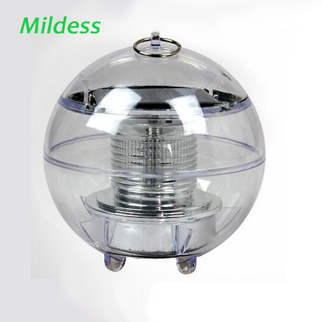 Mildness Pool Lamp Waterproof Lamps RGB Ball Light Floating Pool Garden Decoration Pond Solar LED Fountain Outdoor Lighting