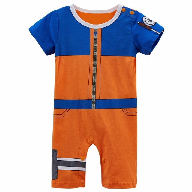 620833d782ad Newborn Baby Boy Uzumaki Naruto Costume Romper Infant Party Playsuit  Babygrow Outfit