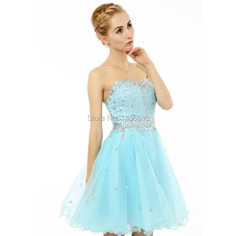 vestidos de 15 anos curto 2016 Real Model Photo Short <font><b>Homecoming</b></font> Dresses Beaded Fashionable Hot Sale 8th Grade Graduation Gowns