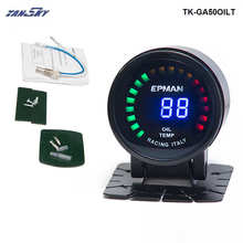 TANSKY – 2015 New EPman racing 52mm Smoked LED Digital Oil Temperature Meter with Sensor bracket For Ford FOCUS 2.0 TK-GA50OILT