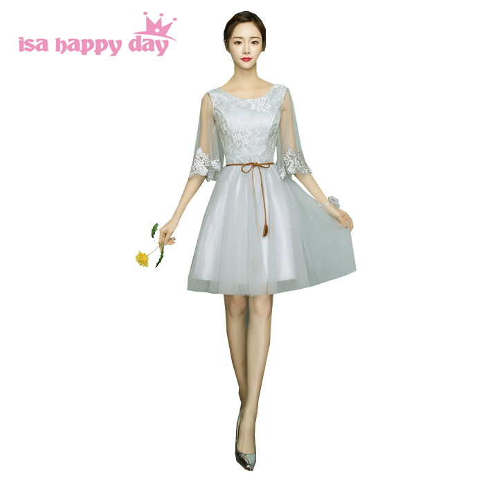 Formal Floral Capped Sleeve Bridesmaid Girls Pageant Dresses Tulle Gril Teenage Dress Fancy Ball Gowns New Fashion 2019 H4035