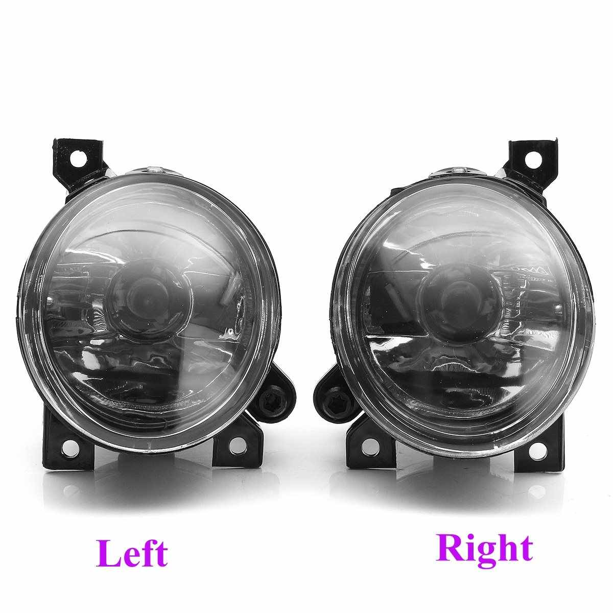 hight resolution of  55w front left right foglight grille kit set w wiring headlight switch for vw t5