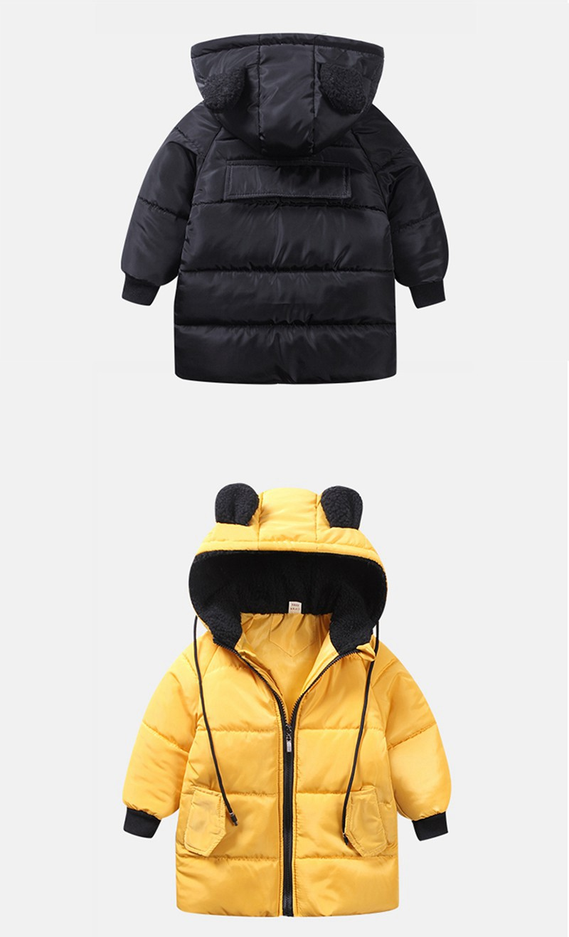 CROAL CHERIE Girls Jackets Kids Boys Coat Children Winter Outerwear & Coats Casual Baby Girls Clothes Autumn Winter Parkas (11)