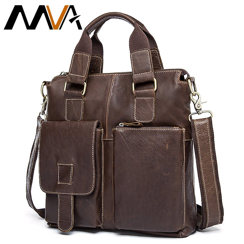 Men's Messenger Bag Briefcase Commercial Male Genuine Leather Shoulder Men's Casual Bag Real Leather Briefcase Men Handbag  8529
