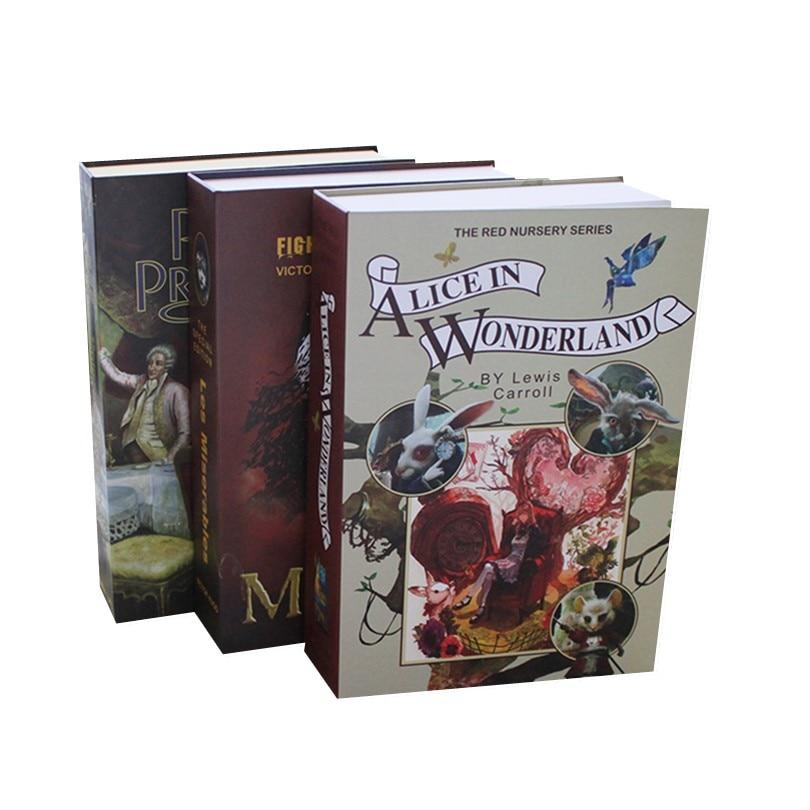 Nouveau Design dictionnaire livre Secret tirelire livre stockage coffre-fort Secret sécurité argent argent bijoux serrure boîtes avec mot de passe