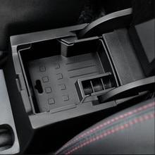 Organizador para braço interno automotivo, caixa de armazenamento para suzuki vitara escudo 2016-2018, acessórios interiores