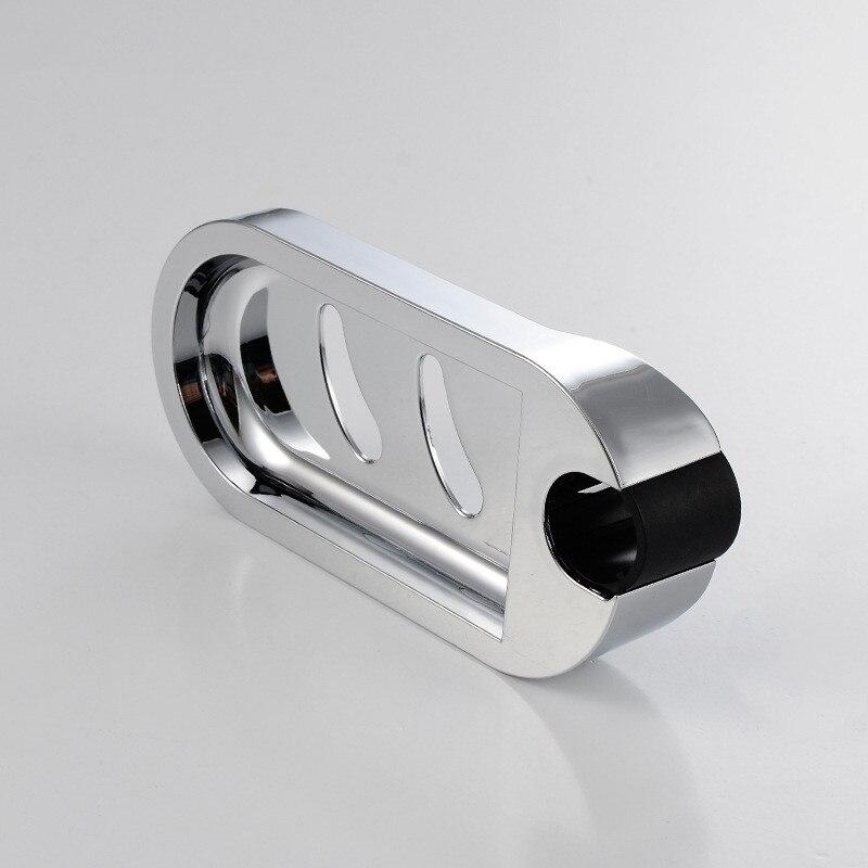 25mm Plastic Shower Rail Soap Dish Box Soap Holder Soap Pallet Shower Rod  Slide Bar ABS Chrome For Sliding Bar In Soap Dishes From Home Improvement  On ...