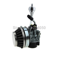 Racing Carb Carburetor 60mm Air Filter CNC Fuel Filters For 49cc 50cc 60 66 80cc 2 Stroke Motorized Bike Bicycle