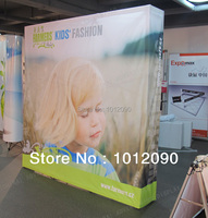 Free shipping Fabric Straight POP up Backdrop / Fabric Pop up banner / Backdrop banner/ Advertising wall /Show banner