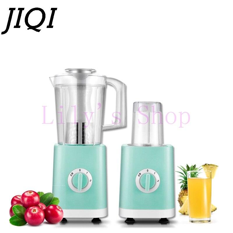 JIQI Multifunction Juice extractor Blender household mini baby food fruit juicer mixer milkshake Soy milk machine Smoothie Maker