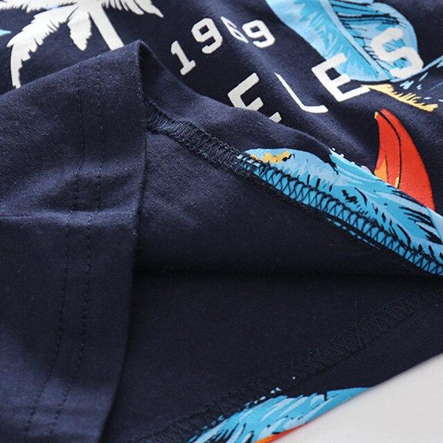 2019 Baby Boys Sets Summer Boys Sets Clothes T shirt+short Pants cotton sports Letter printed Set Children Suit 3