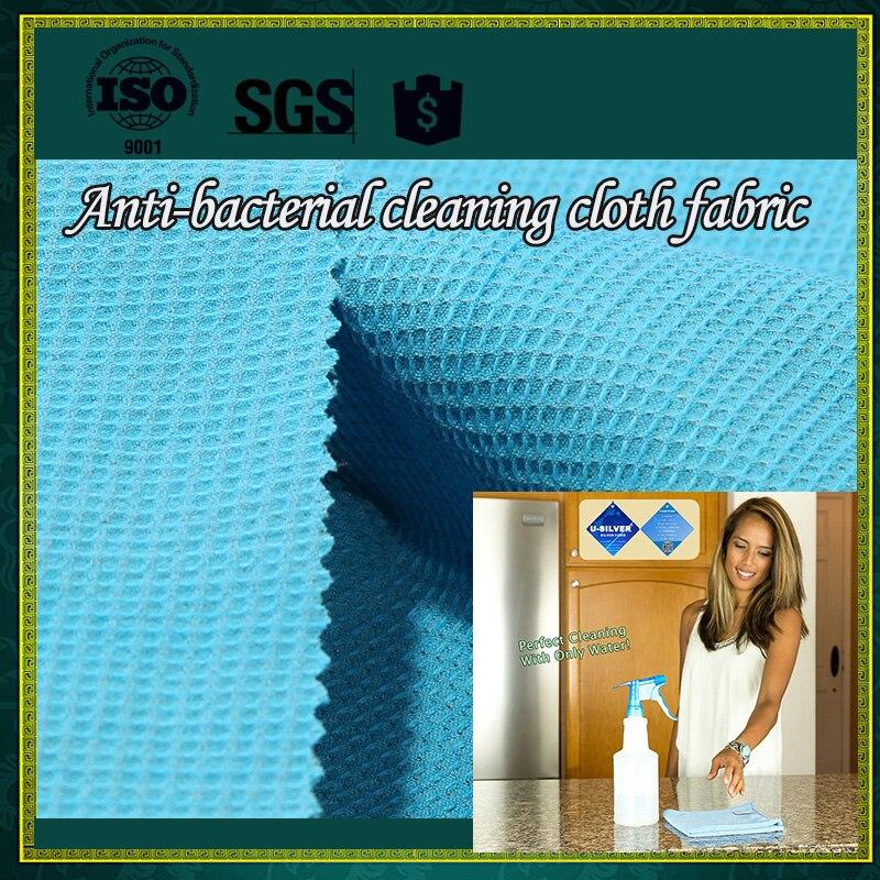 Antibactérien Enviro Chiffon De Nettoyage Tissu-Argent fil embeded