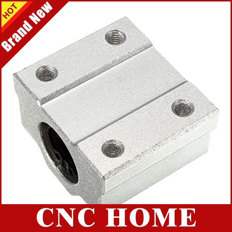 SC12UU SCS12UU 12mm 1 PCS Linear Ball Bearing Pellow Block Linear Unit FOR CNC