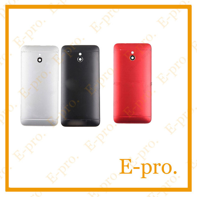 New Back Housing For HTC One Mini M4 601e 601s 601n Housing Back Cover Battery Door Sliver Black Red Color Free Tracking No.