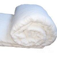 Натуральный волокно шелковое одеяло 100% шелк тутового наполнителя хлопок марли в виде ракушки крышка Стёганое 1,5 кг 3