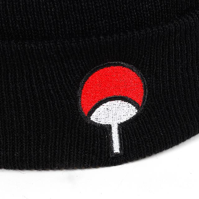 UCHIHA CLAN EMBROIDERY LOGO BEANIE HATS
