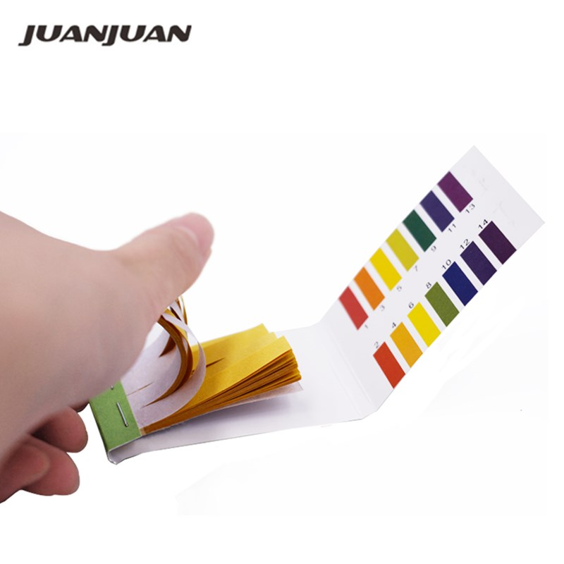Hot Sale Measurement & Analysis Instruments Brand New PH 1-14 Litmus Paper Test Portable Strips Indicator PH Tester 10%Off