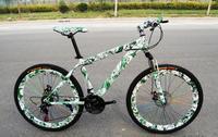Новый стиль 26 дюйм(ов) ов) 21 скорость двойной диск Велоспорт фабрика подвеска активности стиль велосипед подарок горный велосипед