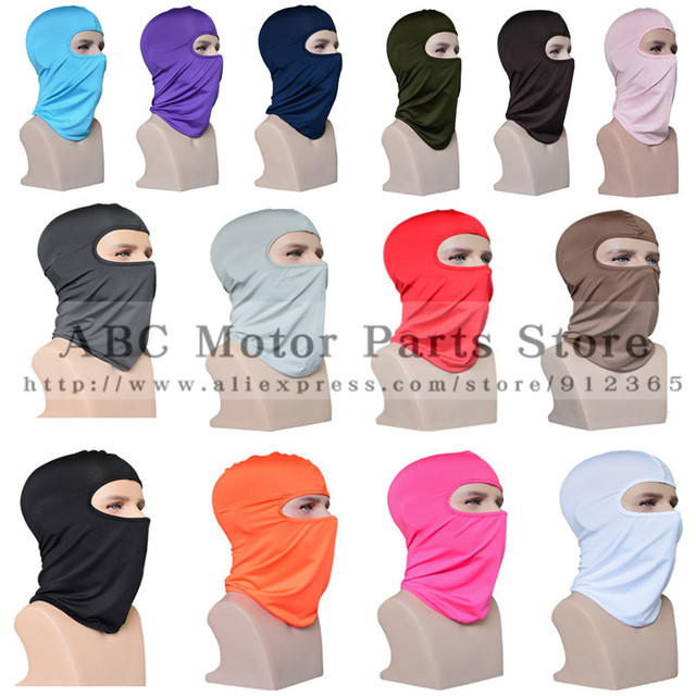 Outdoor Sports Neck Motorcycle Face Mask Winter Warm Ski Snowboard Wind Cap Police Cycling Balaclavas Face Mask Tactical Mask 1
