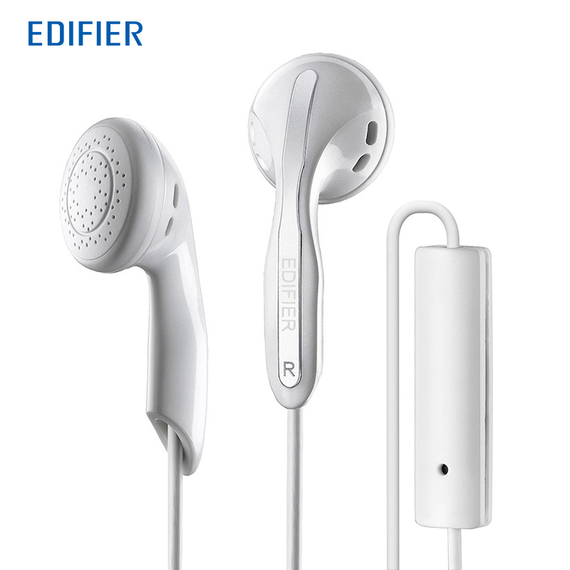 Edifier P180 HIFI Earphones High End Performance Stereo Bass Earphone With Mic For Mobile Phone Tablet
