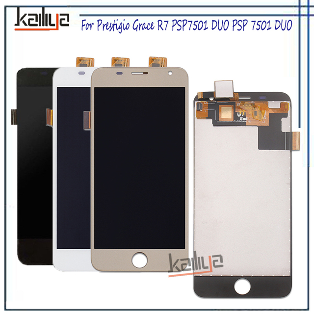 For Prestigio Grace R7 PSP7501DUO PSP7501 DUO PSP 7501 DUO LCD Display + 5.0 inch Touch Screen Digitizer Assembly Replacement