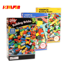 1000pcs Bricks Designer Creative Classic Brick DIY Building Blocks  Educational Toys Bulk For Children Gift