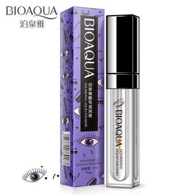 BIOAQUA Original Eyelash Growth Treatments 7 Days Longer Thicker Enhancer Serum Growth Eyebrows Beard Hairline Eyes