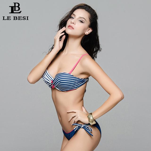 LE BESI New Bikini Set For Women Beach Sexy Swimwear