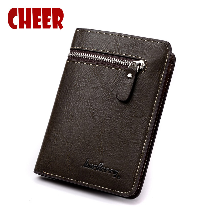 Fashion wallet men short Coin pocket with purse Multifunction Casual Clutch bag men high quality Multi-card bit portfolio wallet 2017 hengsheng high grade quality cross pattern men s short wallet fashion men folding pocket purse solid free shipping for male