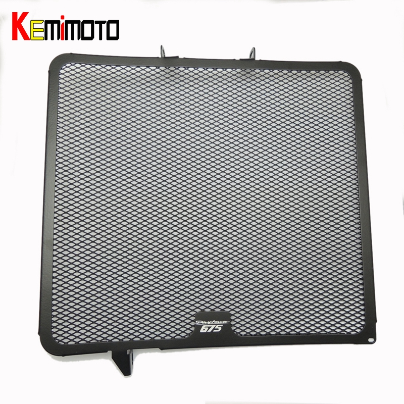KEMiMOTO Motorcycle Daytona 675 Radiator Grille Grill Cooler Guard Cover for Triumph 675 Daytona 2006 2007 2008 09 10 11 2012 motorcycle radiator cover water tank cooler grille guard fairing protector for honda vtx1800 2002 2008 2007 2006 2005 2004 2003