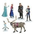 De alta qualidade a minha Anna Elsa Bonecas Nova Banda pouco Olaf Brinquedos Desenhos Animados móveis Dolls & Acessórios poni para Figuras de Brinquedo de Presente de Aniversário