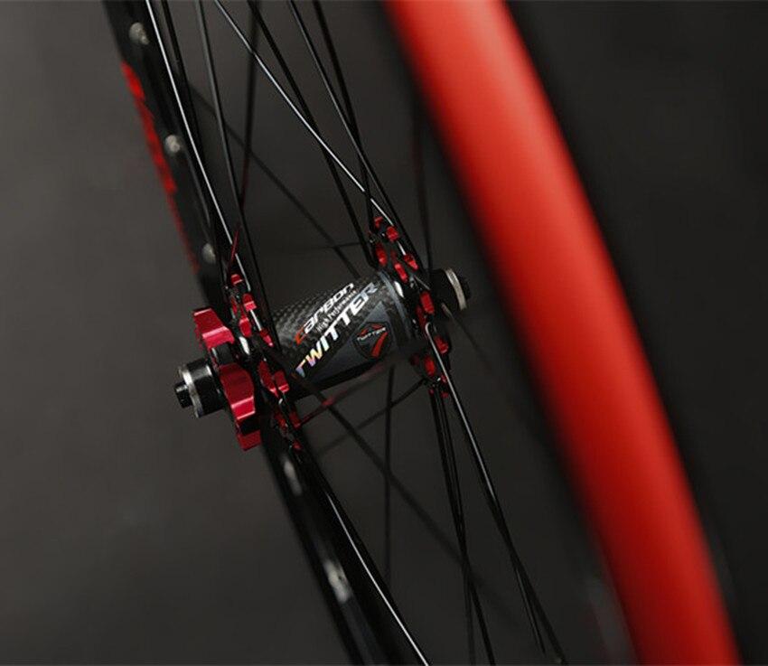 de fibra carbono rodas rodado 27.5 29 polegada aro da liga alumínio