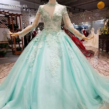 CHANVENUEL party dresses long sleeves a-line prom dress