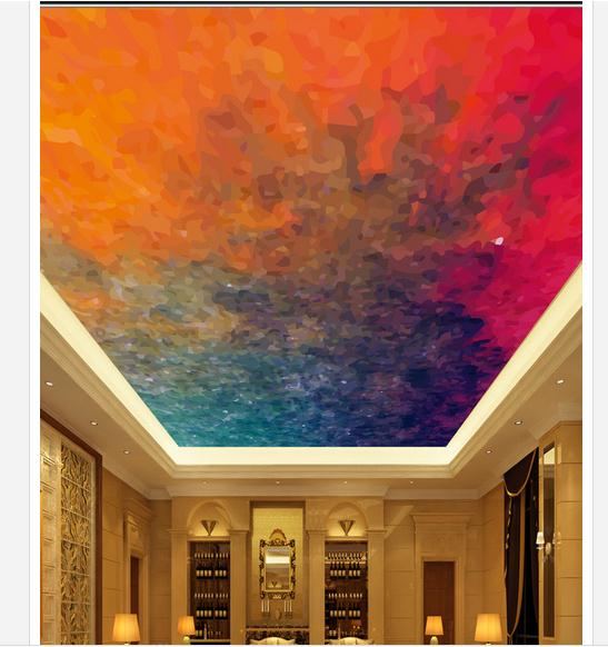 3d photo wallpaper 3d celing wallpaper murals abstract color ceiling ceiling frescoes wall paper living room decoration in wallpapers from home improvement