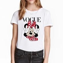 FIXSYS Harajuku T Shirt Women White Summer Kawaii Tops Tee Graphic Tees Casual Lady Streetwear Female Cartoon T-shirts