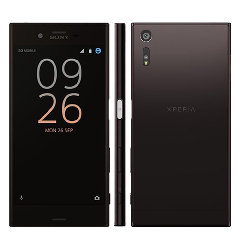 Nueva original sony xperia xz f8332 teléfono móvil octa core 3 gb RAM 64 GB ROM WIFI 4G LTE Smartphone Snapdragon 820 23MP 2900 mAh