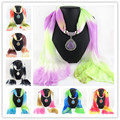 180x40cm Autumn And Winter Women Warm Scarf Charms Shawl Water Drop Pendant Necklace Colored Scarves Jewelry 8 Colors GPD8074