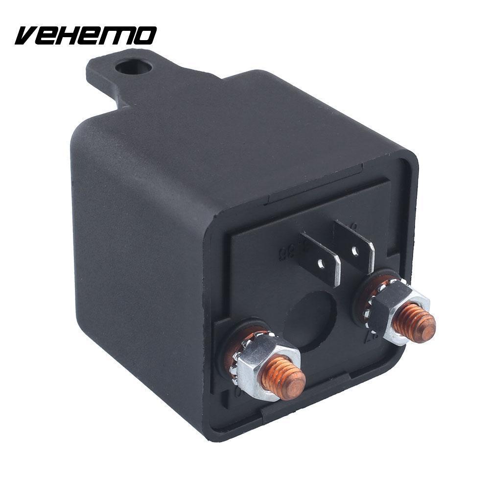 Vehemo 12V 200A Relä 4 stift för bil Auto Heavy Duty Installera - Reservdelar och bildelar - Foto 5