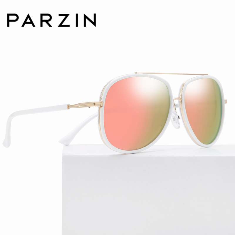 Hohe Fahren Paar Qualität Unisex Sommer Sonnenbrille pink 9833 2018 Pilot blue Zubehör Hd Black Kühlen Polarisierte Marke Parzin RzwAXX