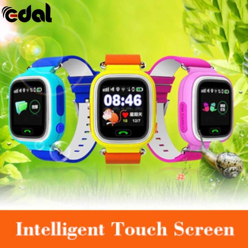GPS Child Smart Watch Phone Position 3 Colors Children Watch 1.22 inch Touch Screen WIFI SOS Smart Baby Watch