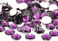 3mm TANZANITE Cor SS10 strass Resina cristal flatback, Nail Art Pedrinhas, 100,000 pçs/saco