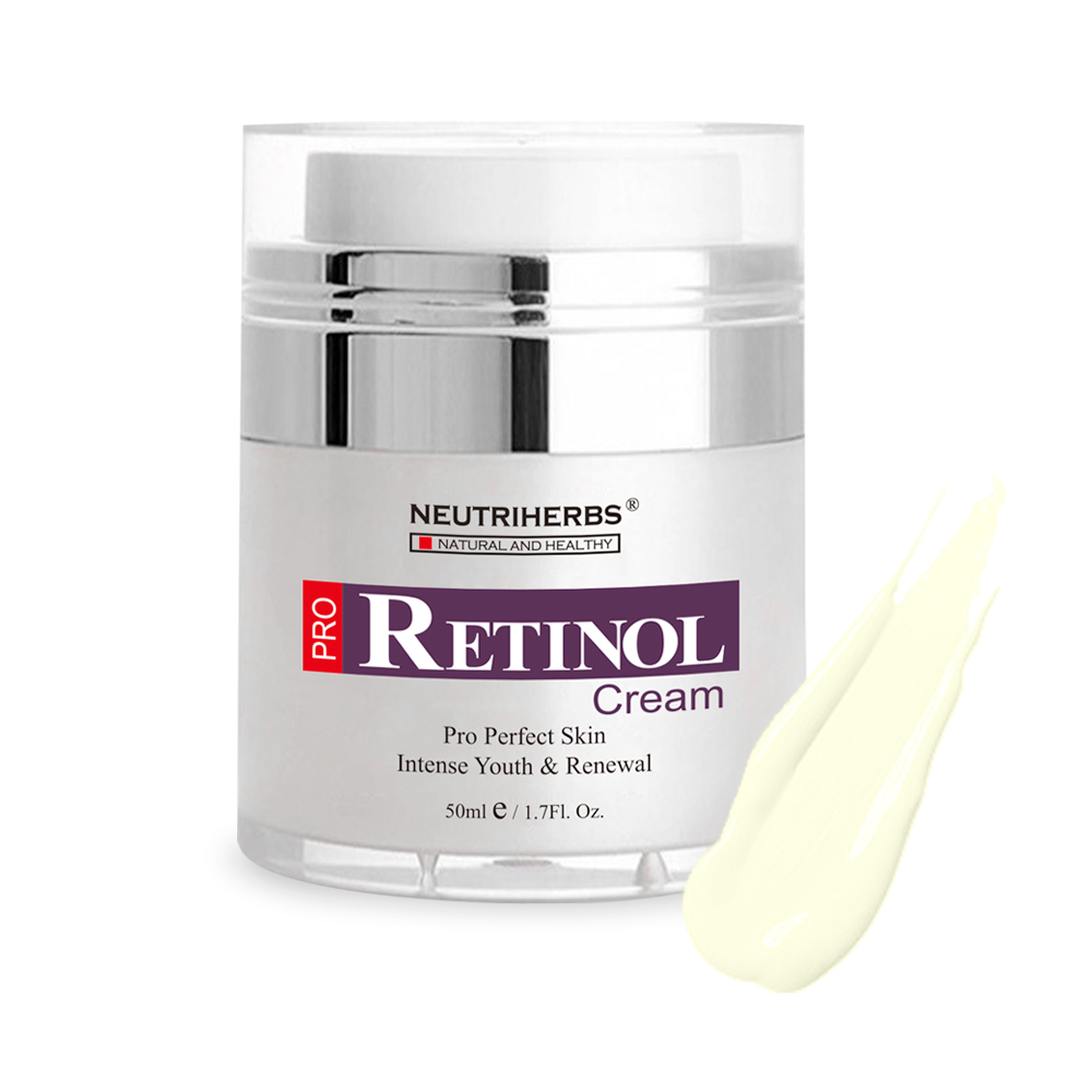 Neutriherbs Retinol Moisturizer Cream Vitamin A Vitamin E Collagen Cream for Face Facial Care 50g 4