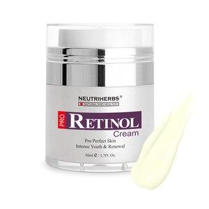 Image 4 - Увлажняющий крем Neutriherbs, ретинол, витамин А, коллагеновый крем с витамином е для ухода за лицом, 50 г